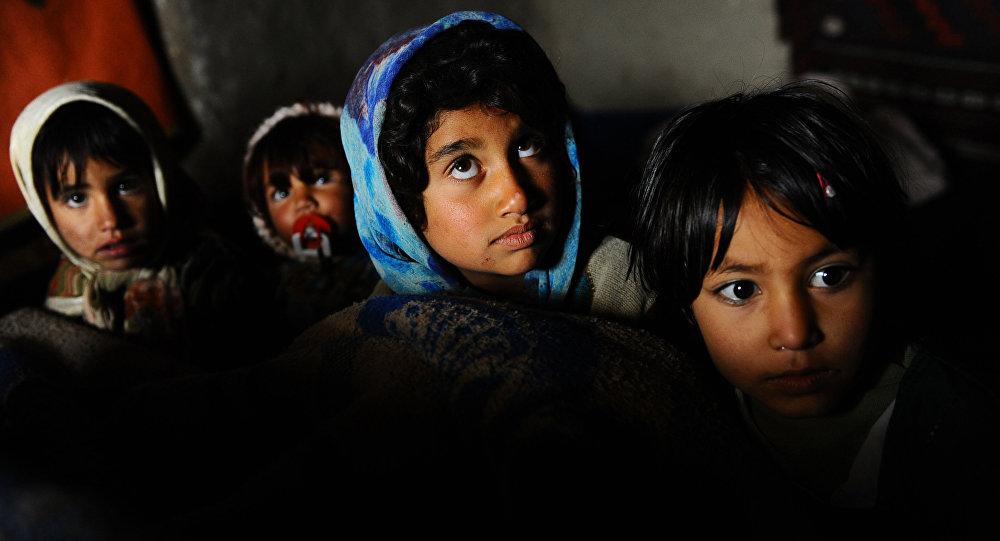 Niños afganos (archivo)