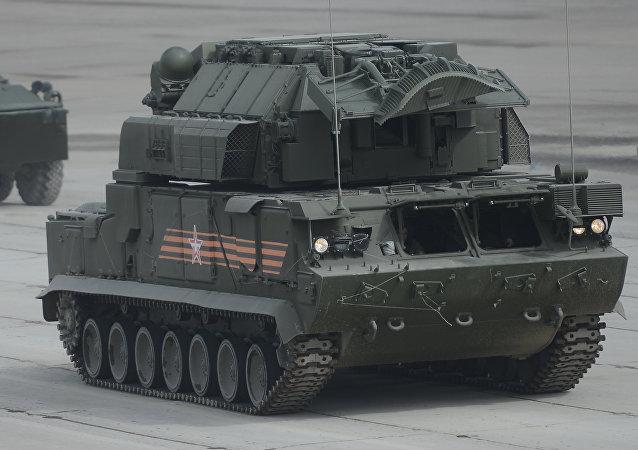 Sistema de misiles antiaéreos Tor-M2U