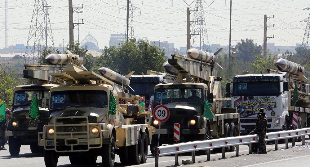 Armamento de Irán (archivo)