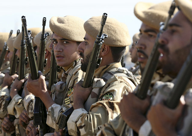 Militares iraníes (archivo)