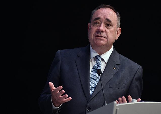 Alex Salmond, ex ministro principal de Escocia
