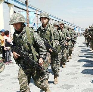 Marines surcoreanos y estadounidenses (archivo)