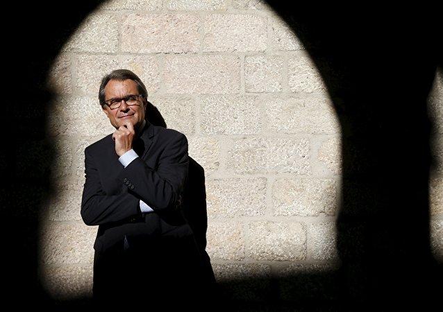 Artur Mas, líder de Cataluña