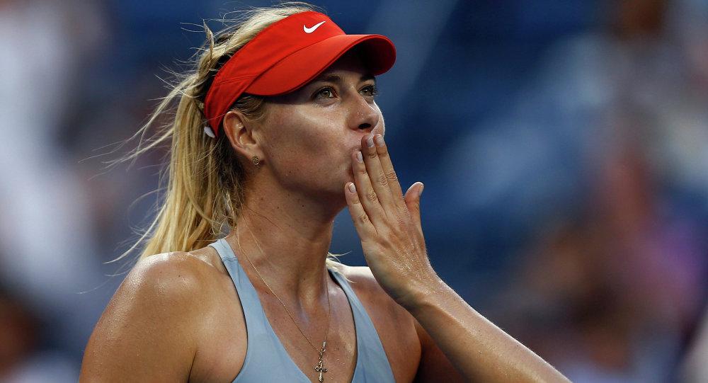 La tenista rusa Maria Sharapova