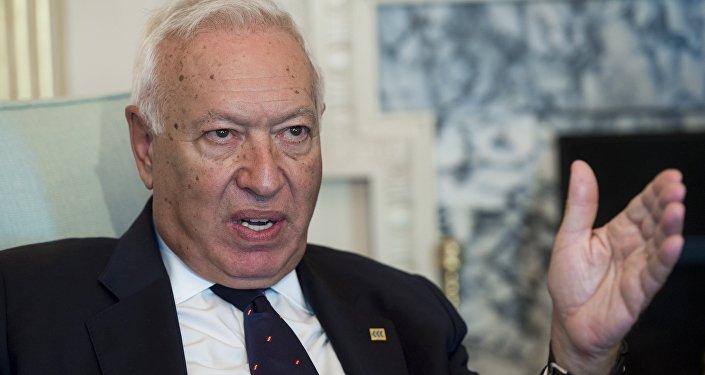 José Manuel García-Margallo, ministro de Asuntos Exteriores español