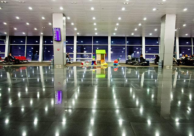El aeropuerto de Kiev