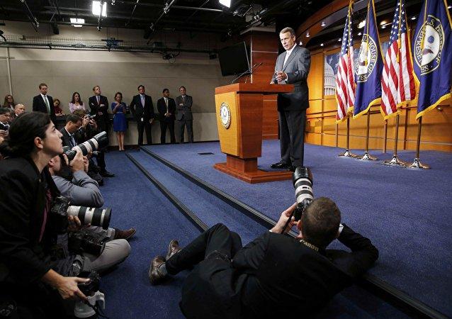 John Boehner anuncia su renuncia en el Congreso