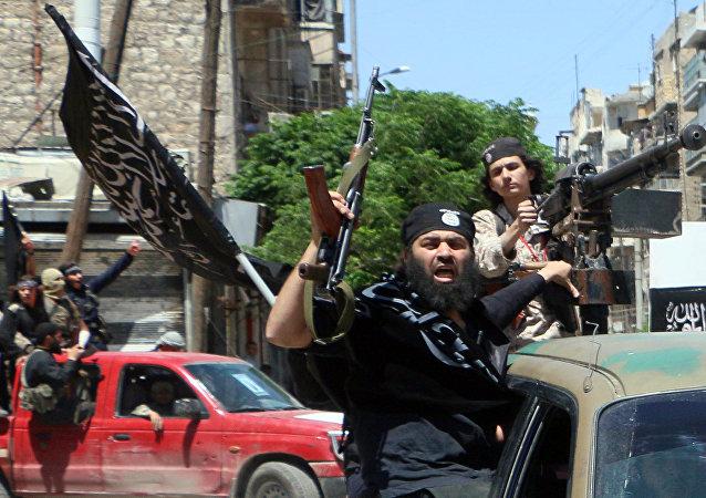 Terroristas del grupo Frente al Nusra