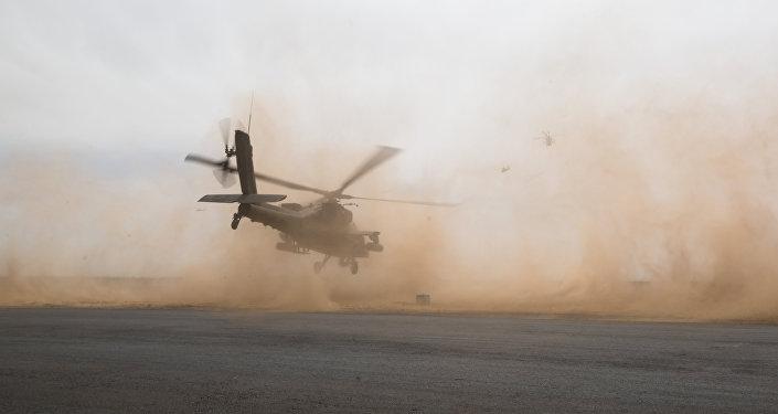 Helicóptero Apache (archivo)