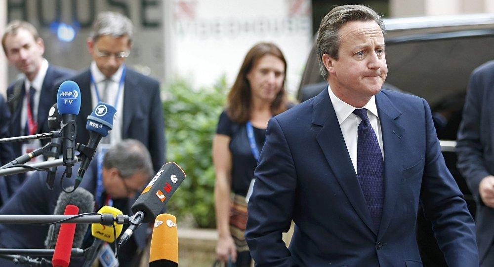 El primer ministro de Reino Unido, David Cameron