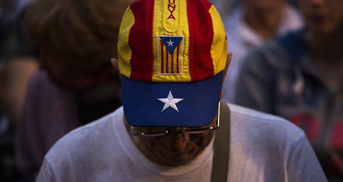 Partidario de la independencia de Cataluña