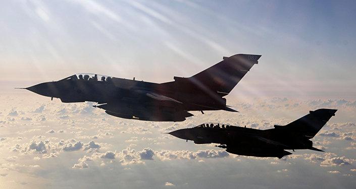 Cazas de RAF británica