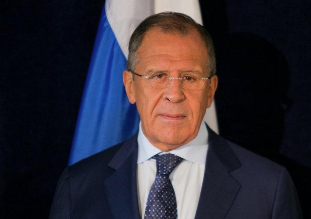 Serguéi Lavrov, ministro ruso de Exteriores