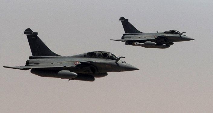 Cazas Rafale del Ejército del Aire Francés