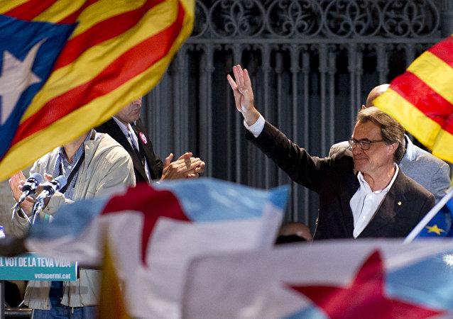 Artur Mas, expresidente del Gobierno catalán