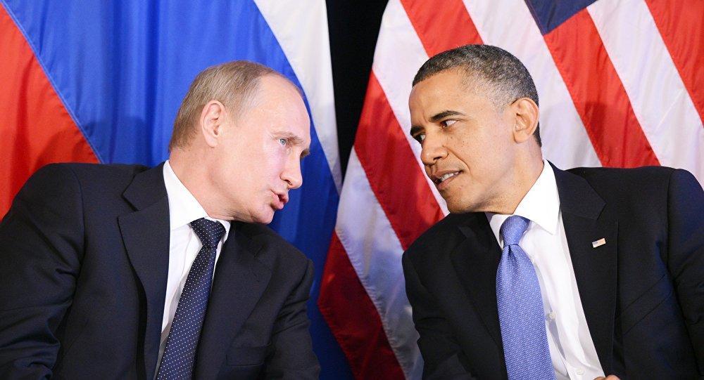 Vladímir Putin, presidente de Rusia, y Barack Obama, presidente de EEUU (archivo)