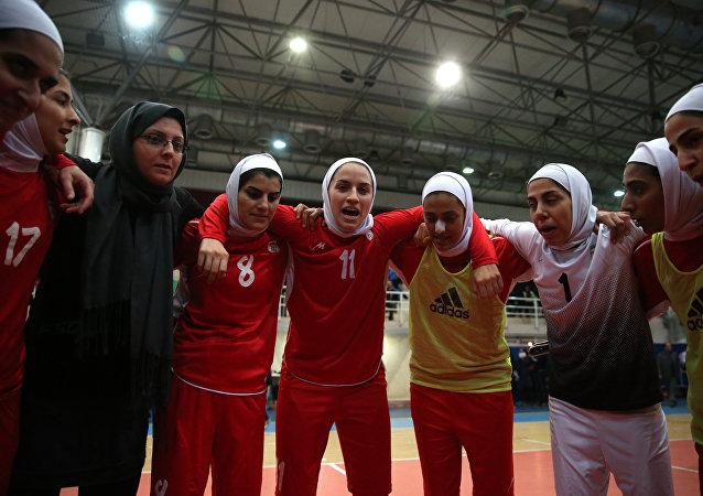 La selección nacional de fútbol femenino de Irán (Archivo)