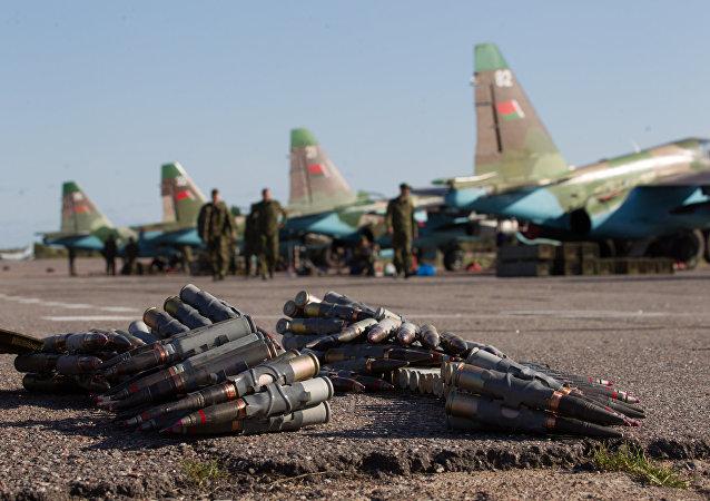 Su-25 de las Fuerzas Armadas de Bielorrusia