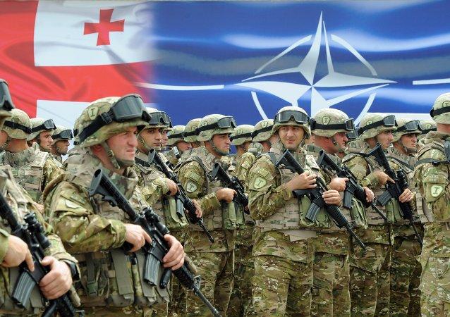 Soldados georgianos