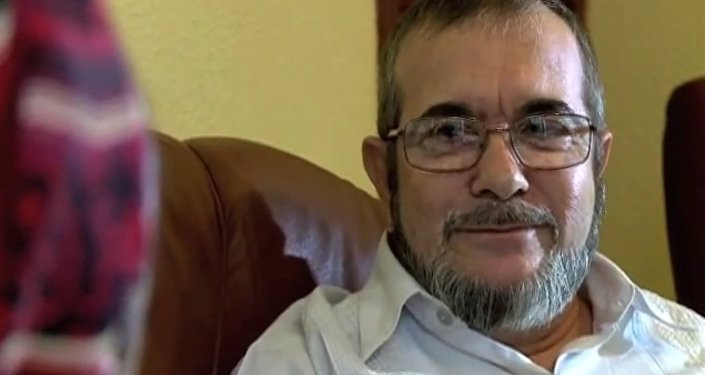 El máximo líder de las FARC, Rodrigo Londoño Echeverri, alias 'Timochenko' (archivo)