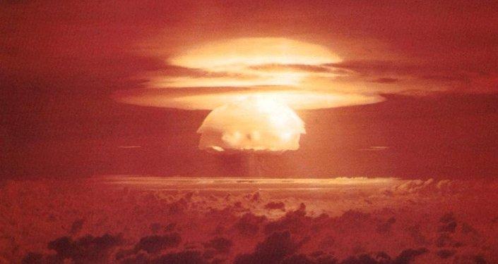 Una explosión nuclear (archivo)