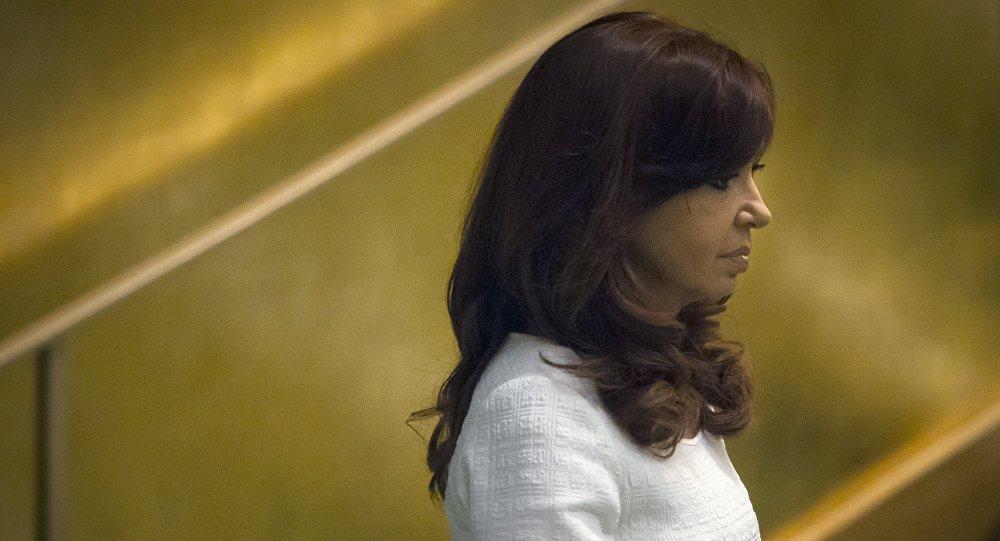 Cristina Kirchner, expresidenta y actual senadora Argentina (archivo)