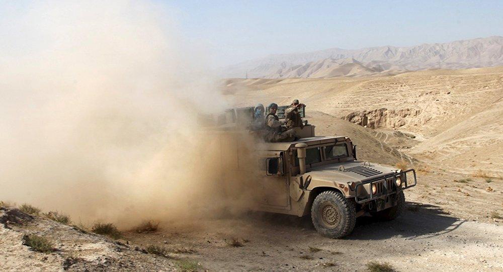 Los soldados afganos (archivo)