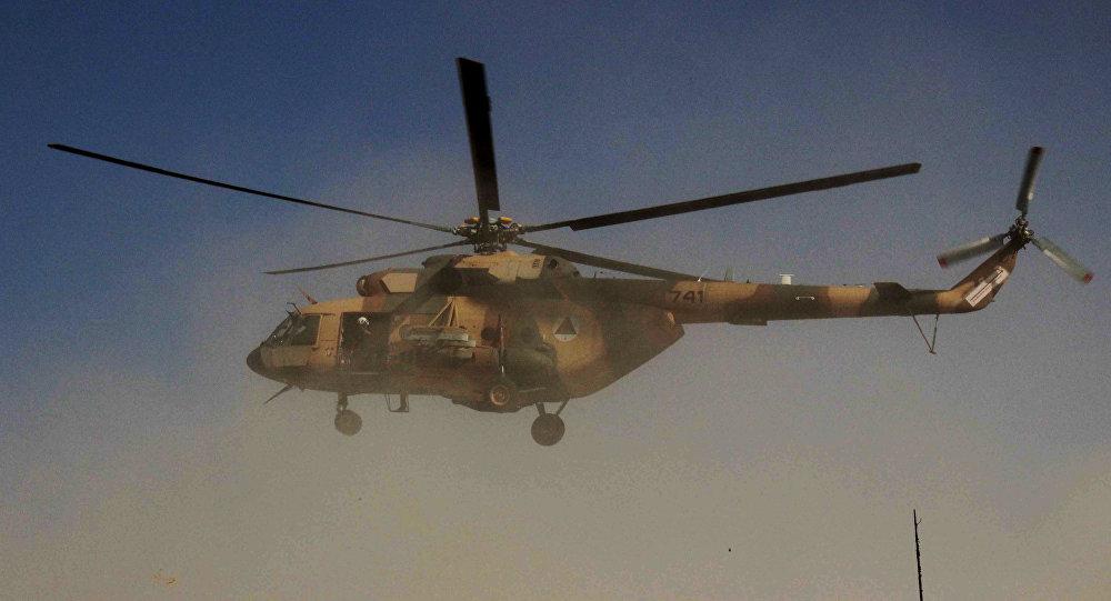 Helicóptero afgano