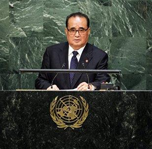 Ri Su-yong, ministro de Exteriores de Corea del Norte