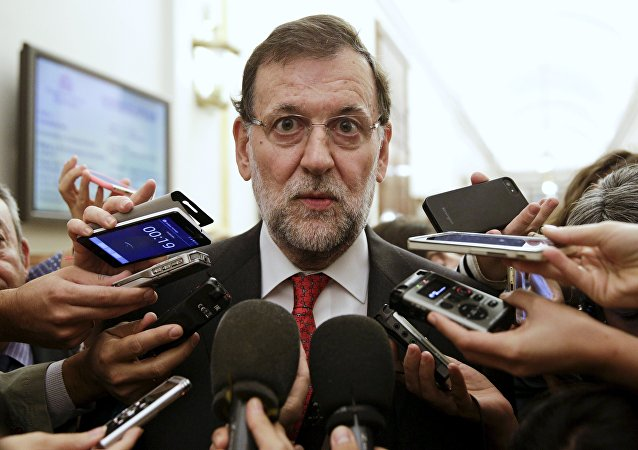 Mariano Rajoy, presidente del Gobierno de España en funciones