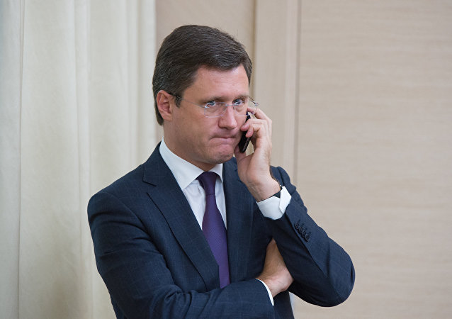 Alexánder Nóvak, ministro de Energía de Rusia