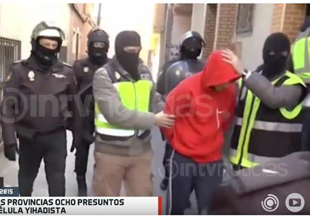 Detención de los 8 reclutadores yihadistas en España