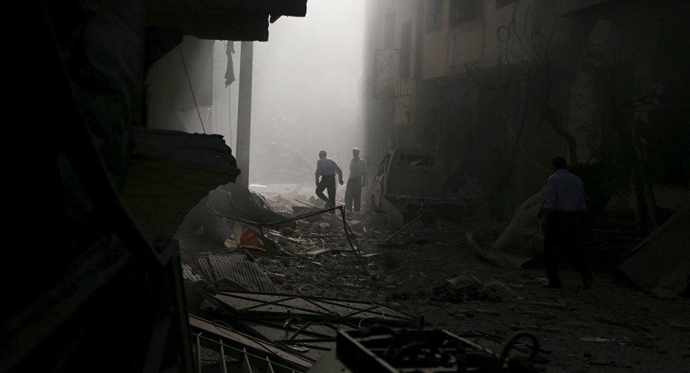 Duma, Siria (Archivo)