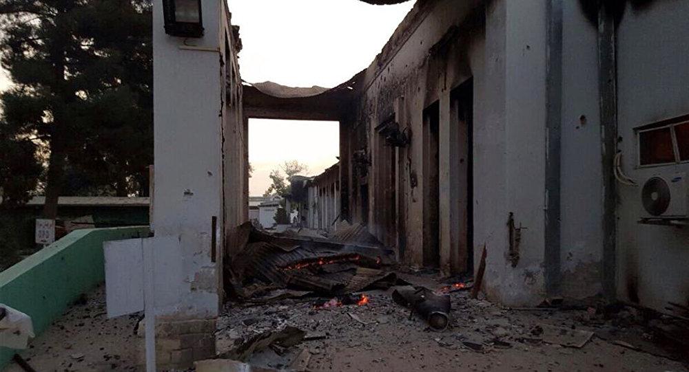 Hospital de Médicos sin Fronteras en Kunduz tras sufrir un bombardeo