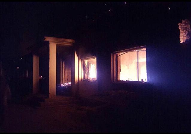 Hospital de la MSF bombardeado en Kunduz, Afganistán