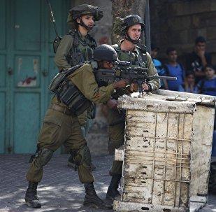 Soldados israelíes en Cisjordania (archivo)