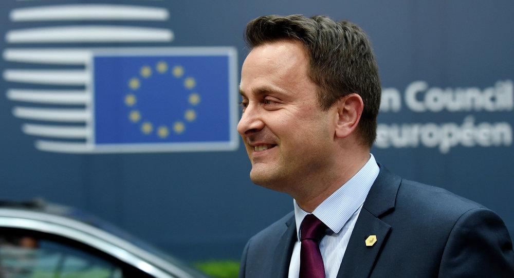 Xavier Bettel, primer ministro de Luxemburgo (archivo)