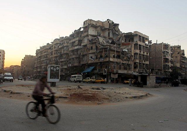 Ciudad de Aleppo, Siria