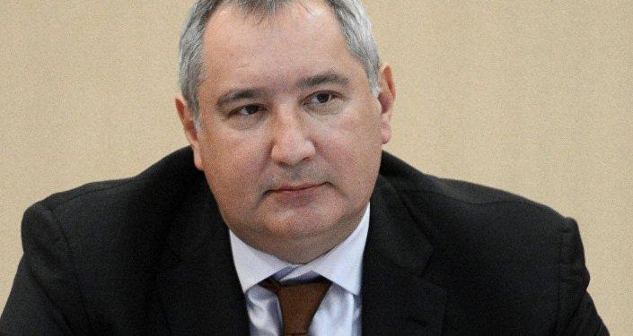 Dmitri Rogozin, viceprimer ministro de Rusia