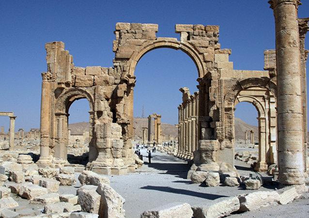 Arco de Triunfo en Palmira (Archivo)