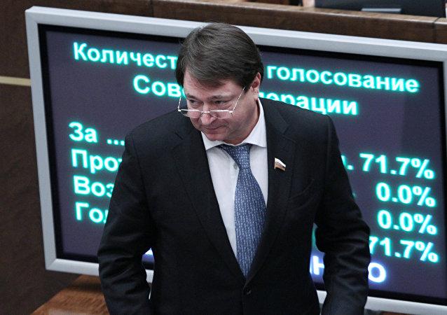 Serguéi Shatírov, senador ruso