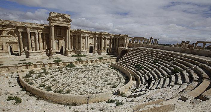 Anfiteatro romano en Palmira