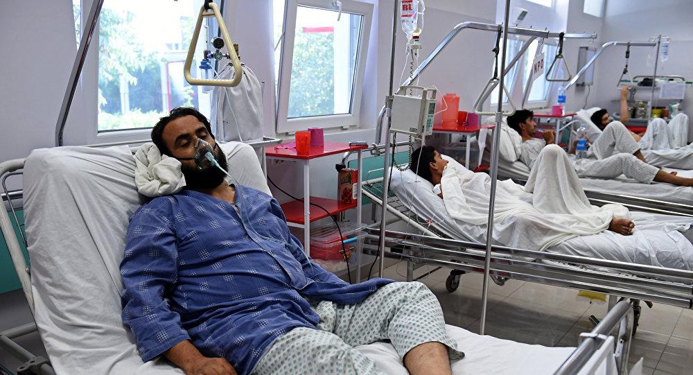 Un herido por ataque aéreo de EEUU en Kabul, Afganistán