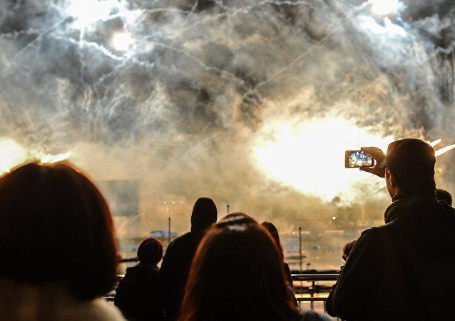 """El festival """"Círculo de Luz"""" entra en los récord Guinness"""