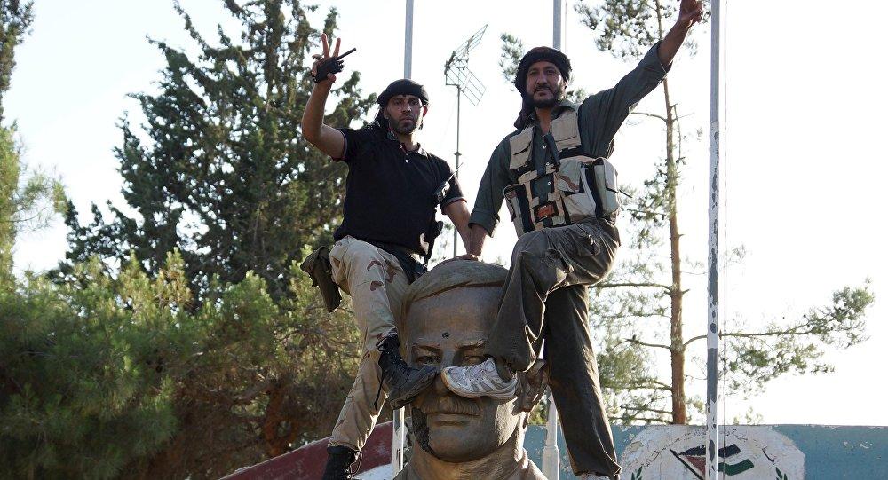 Miembros del Ejército Libre Sirio (ELS)