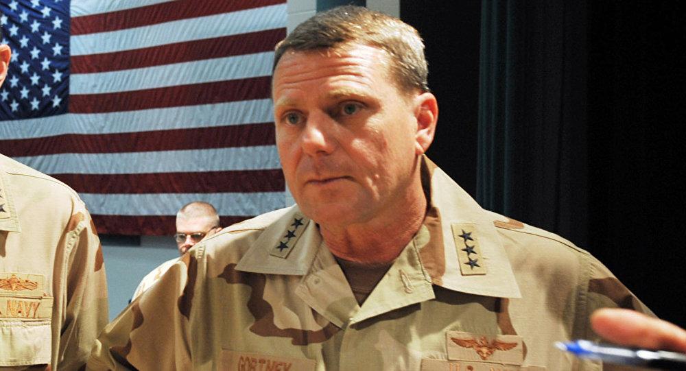 William E. Gortney, almirante estadounidense (Archivo)