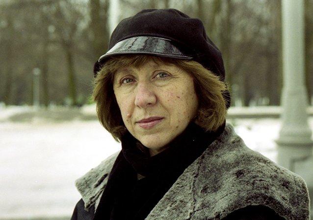 Svetlana Alexievich, escritora y periodista bielorrusa