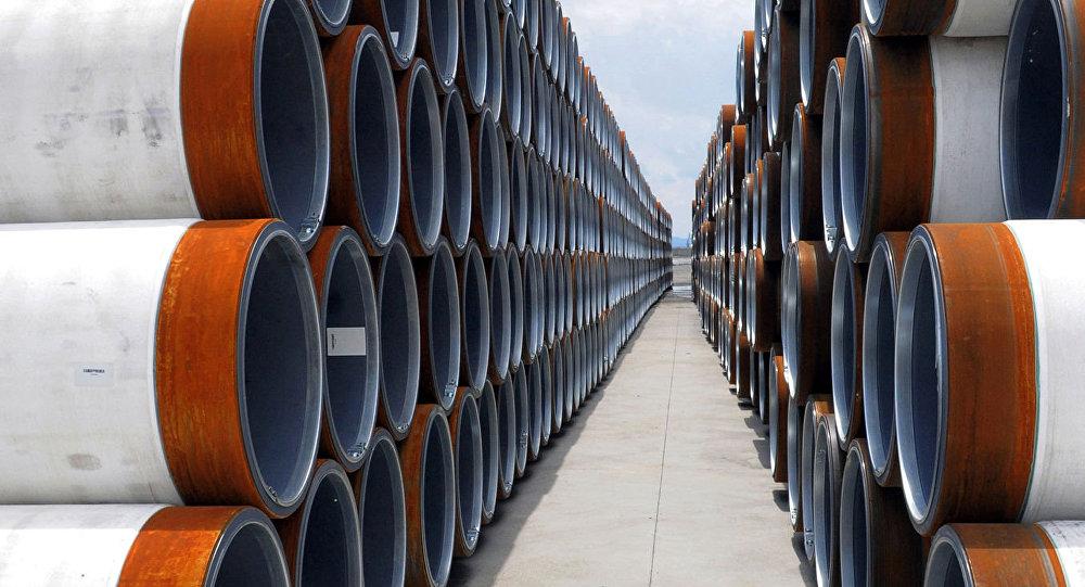 Tuberías para el gasoducto Turk Stream