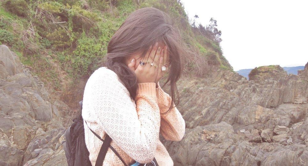 Una joven (archivo)