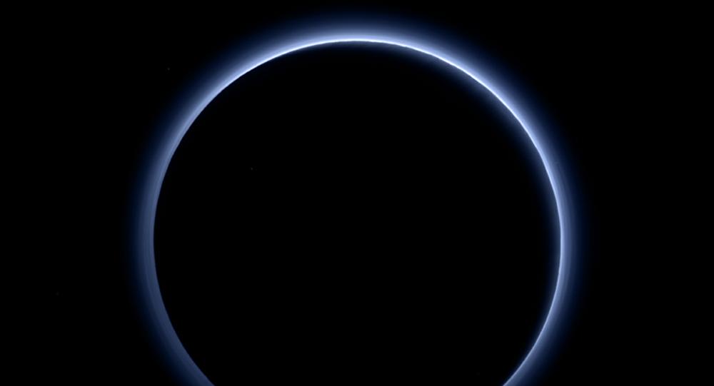 Neblina en torno a Plutón